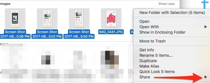 How to: Use Airdrop to share Media on iPhone, iPad, and Mac